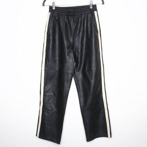 Urban Outfitters | Faux Leather Tuxedo Sweats S